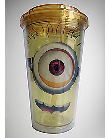 Minions Cup with Straw 16 oz. - Despicable Me