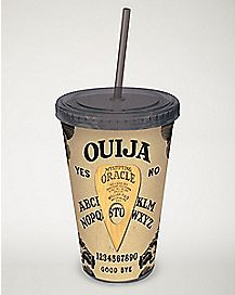 Ouija Board Cup with Straw - 16 oz.