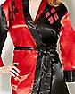 Harley Quinn Silky Robe