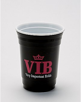 VIB Very Important Bride Party Cup