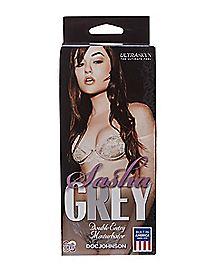 2 Hole Porn Star Sasha Grey Stroker