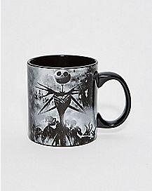 Storm Scene Jack Nightmare Before Christmas Coffee Mug