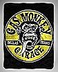 Gas Monkey Garage Fleece Blanket