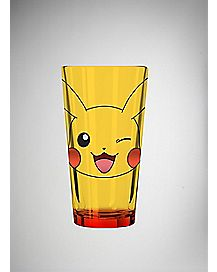 Pikachu Face Pokemon Pint Glass