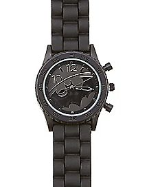 Batman Logo Watch 2 Pack Black - DC Comics