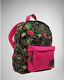 Tropical Leopard Backpack