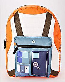Hooded Rebel Star Wars Backpack
