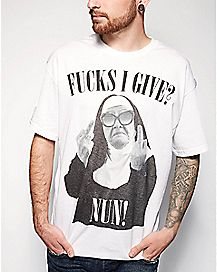 Fucks I Give - Nun T Shirt