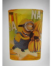 Square Banana Despicable Me Shot Glass 1.5 oz