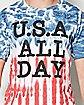 USA All Day T shirt