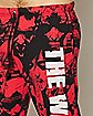 Red Print The Walking Dead Lounge Pants