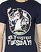 Ace Ventura Testicle Tuesday T shirt