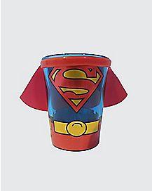 Caped Superman Shot Glass 1.5 oz. - DC Comics