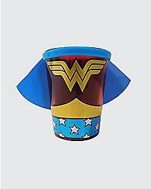 Caped Wonder Woman Shot Glass - 1.5 oz