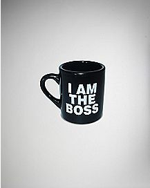 I Am the Boss Mug Shot Glass 2 oz.