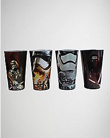 The Force Awakens Star Wars Pint Glasses Set