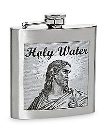 Holy Water Flask - 6 oz