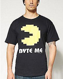 Byte Me Pacman T shirt