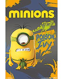 Poison Ivy Minions Poster