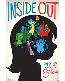 Emotions Inside Out Poster