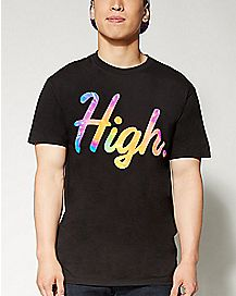 High Tie Dye T shirt