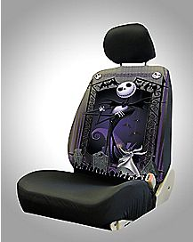 Jack Skellington Car Seat Cover - The Nightmare Before Christmas