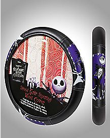 jack skellington steering wheel cover the nightmare before christmas