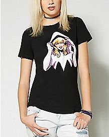 Spider-Gwen Crew T Shirt - Marvel Comics