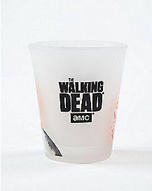 Frosted Daryl Walking Dead Shot Glass 2.4 oz