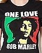 One Love Rasta Bob Marley Tee