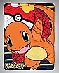 Charmander Pokemon Fleece Blanket