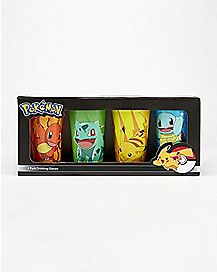 Character Pokemon Pint Glasses Set