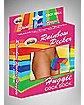 Rainbow Huggie Cock Sock
