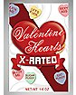 X-Rated Valentine Heart Candies