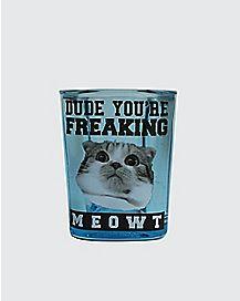 Square Freaking Meowt Shot Glass - 1.5 oz.