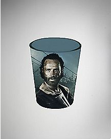 Need Rick Grimes Walking Dead Shot Glass 1.5 oz