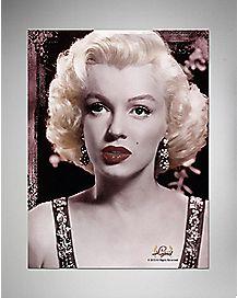 Marilyn Monroe Lips Faux Fur Sherpa Fleece Blanket