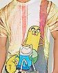 Jake and Finn Adventure Time T shirt