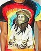 Burning Portrait Bob Marley Tee