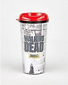 Foil Rick Grimes Walking Dead Travel Mug 16 oz