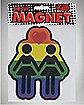 Girl Love Magnet