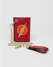 Flash Trifold Chain Wallet