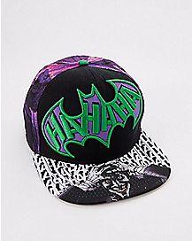 Arkham Joker Snapback Hat