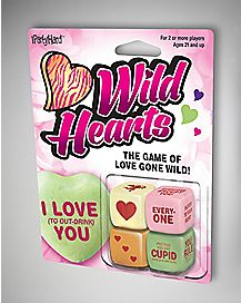 Wild Hearts Dice Drinking Game