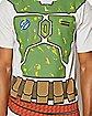 Boba Fett Over the Head T shirt