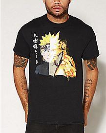 Fire Face Naruto T Shirt