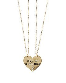 Best Bitches Friendship Necklaces