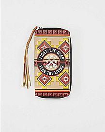 Daryl Poncho The Walking Dead Zip Wallet