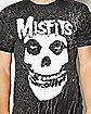 Skull Face Misfits T shirt