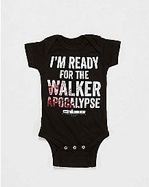 Walker Apocalypse Walking Dead Baby Bodysuit